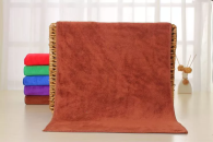 30x60cm 400gsm warp knitted microfiber towel