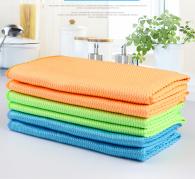 30x40cm 300gsm fish scale microfiber towel