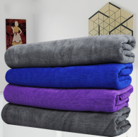 70x90cm 400gsm  285gramweft knitted microfiber towel