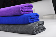 30x70cm 400gsm Microfiber towel weft knitted type