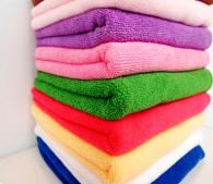 40x60cm 400gsm  96gram weft knitted microfiber towel