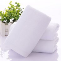35x75cm 120gsm 21/s hotel bath towel white color