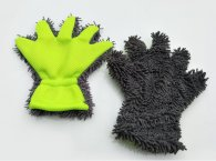 8x24.5cm  70gram  chenille five finger gloves