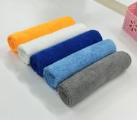 50x70cm 400gsm 140gram weft knitted microfiber towel