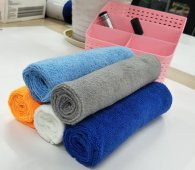 50x70cm 380gsm  133gram weft knitted microfiber towel