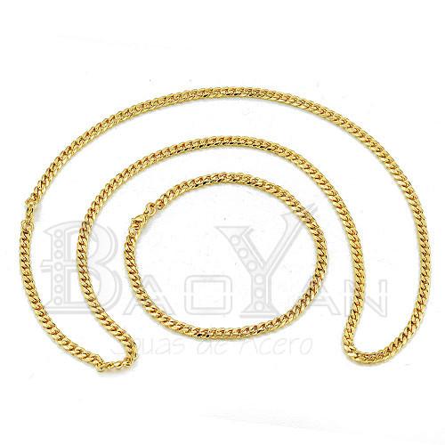 cadenas delgadas con brazaletes para hombres de joyas