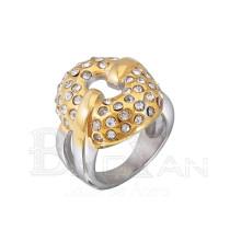 Anillos de nuevo modelo de boda don diamante de acero inoxidable 316l , al por mayor de moda 2013