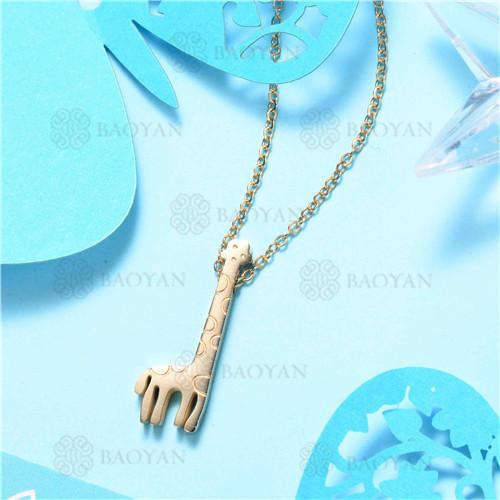 Collar de Acero Inoxidable -SSNEG129-7568
