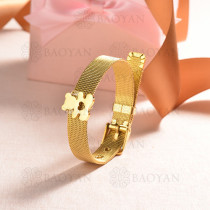 pulsera de charm en acero inoxidable para mujer -SSBTG142-16122-G