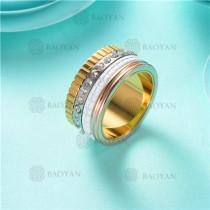 anillo de piedra en acero inoxidable-SSRGG80-2473
