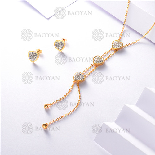 conjunto de dorado en acero inoxidable-SSNEG126-9897