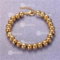 Pulsera con Bolitas Oro Dorado Para Mujer -SSBTG95-6323