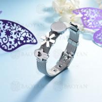 pulsera de charm en acero inoxidable para mujer -SSBTG142-16169-S