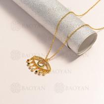 collar en oro golfi en bronce -BRNEG154-14893