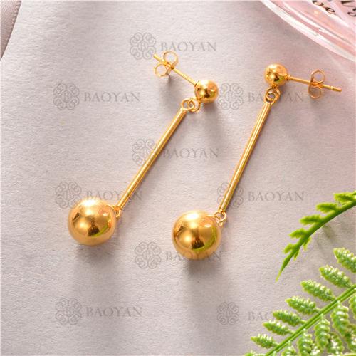 aretes de joyas acero inoxidable -SSEGG81-6362