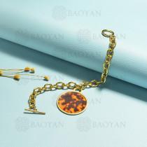 pulsera de acero inoxidable para mujer -SSBTG143-15385
