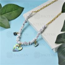 joyeria de coleccion de concha de mar -SSNEG142-15799