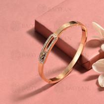 pulsera de acero inoxidable para mujer -SSBTG174-15420