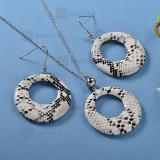Conjunto de Collar y Aretes Fatansia -SSNEG142-12771