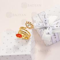 anillos de oro golfi en bronce -BRRGG154-14908