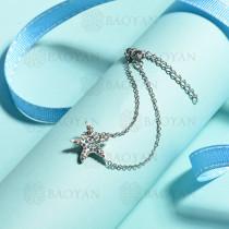 pulsera de acero inoxidable para mujer -SSBTG143-15383-S