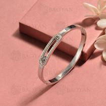 pulsera de acero inoxidable para mujer -SSBTG174-15418