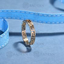 anillos de acero inoxidable para mujerSSRGG175-15688