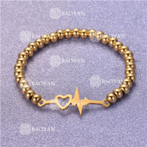 Pulsera con Bolitas Oro Dorado Para Mujer -SSBTG95-6261
