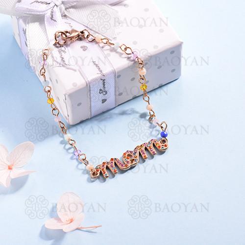 pulsera de Acero Inoxidable multicolor para Mujer -SSBTG142-14703