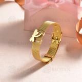 pulsera de charm en acero inoxidable para mujer -SSBTG142-16173-G