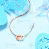 Collar de Acero Inoxidable -SSNEG129-7563