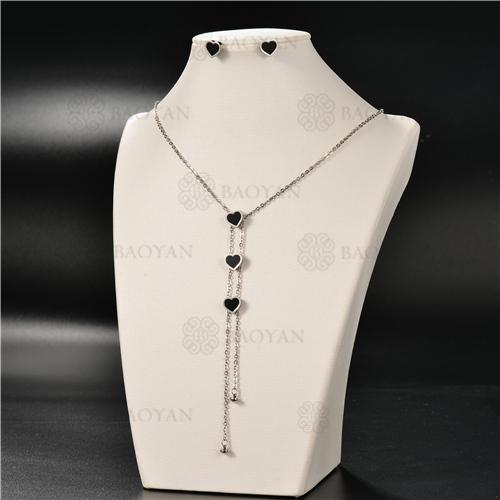 Collar Multicapa en AceroSSNEG126-4919