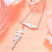 Collar de Acero Inoxidable -SSNEG129-7488