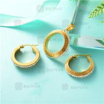 conjunto de dorado en acero inoxidable-SSSTG26-8063