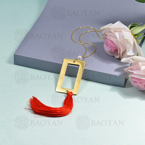 collar de borla en acero inoxidable -SSNEG142-16280