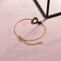 Pulsera de Acero Inoxidable Cristal para Mujer -SSBTG143-14810-G