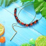 Collar de Piedra Natural -SSNEG16-8373