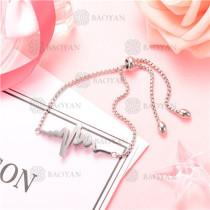 Pulsera de Acero Inoxidable para Mujer -SSBTG126-8219