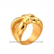 simple diseno de anillo de oro  dorado venta al por mayor online