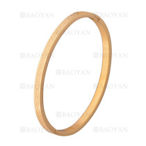 pulsera moda especial en acero dorado inoxidable -SSBTG1225555