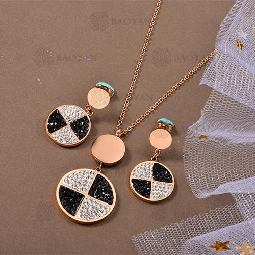 Conjunto de Collar de Acero Inoxidable -SSNEG80-12639