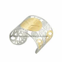 pulsera de logo de avion en acero inoxidable para mujer -SSBTG213303