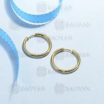 aretes de acero inoxidable para mujer -SSEGG170-15641