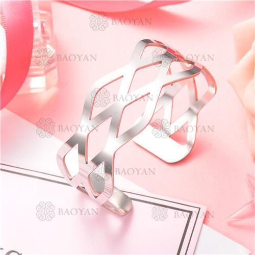 Pulsera de Acero Inoxidable para Mujer -SSBTG126-8193