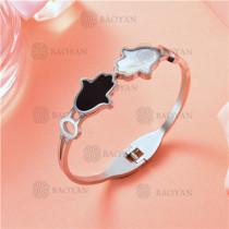 Pulsera en Acero Inoxidable para Mujer -SSBTG126-9455