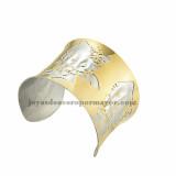 pulsera de image gato hermaoso en acero dorado mezcla plateado inoxidable -SSBTG213438