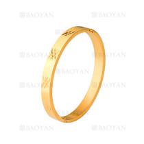 pulsera de dorado en acero de moda para mujer-SSBTG404548