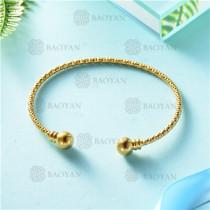 pulsera dorado en acero inixidable-SSBTG26-9133