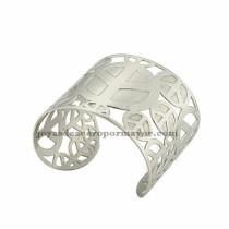 pulsera de logo de avion en acero plateado  inoxidable para mujer -SSBTG213301