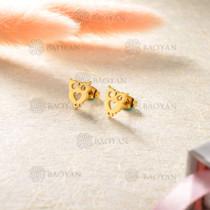 Aretes en Acero Inoxidable para Mujer -SSEGG143-8807